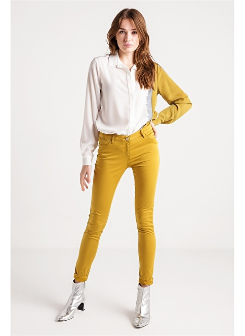 Love'n Fashion Paris Pantolon Yeşil